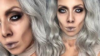 Glam Mummy Halloween Makeup | LustreLux