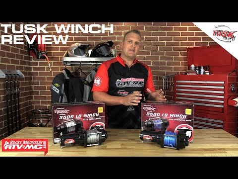 Tusk ATV & UTV Winch Review