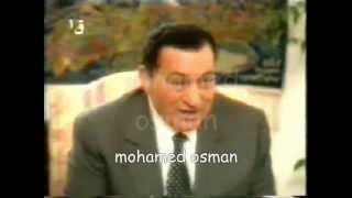 مبارك يحرج مفيد فوزى : مااحبش اتكلم فى الاشياء الشخصية