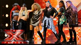 Alien are out of this world! | Auditions Week 2 | The X Factor UK 2015