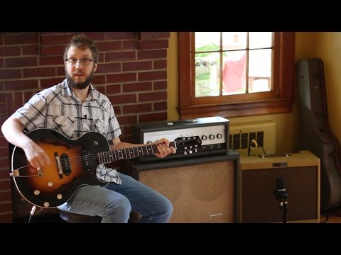 The Loar LH 302T Thinline Hollowbody Guitar Review