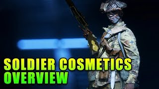 Complete Soldier Cosmetics Overview - Battlefield 5
