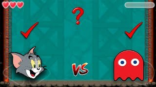PACMAN BOSS vs DOG BOSS TOM AND JERRY RED BALL 4 WORLD