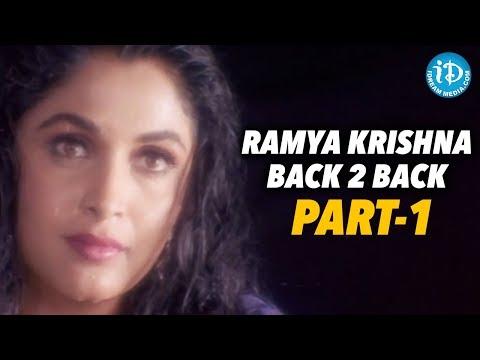 Ramya Krishna Back To Back Videos - Part 1    Ramya Krishna Show Time