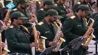 Shalawatan Parade militer garda revolusi Iran