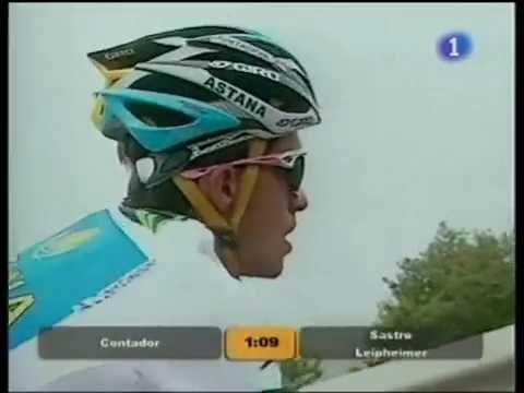 Contador conquista el Angliru
