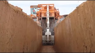 Latest Disc and Chain Trenchers Technology compilation 2016