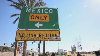 Migrants trying to enter the U.S. are trapped in Tijuana