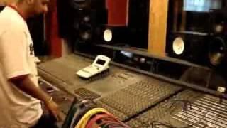 HONEY SINGH at his studio recording KULDEEP TOOR