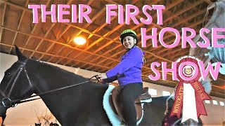 THEIR FIRST HORSE EVENT Day 014 (01/14/18)