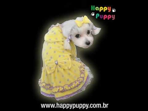 Roupas para Cachorros Happy Puppy