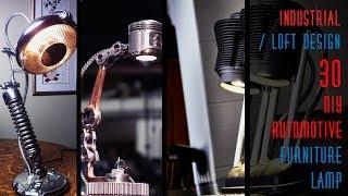 30 DIY Automotive Furniture Lamp
