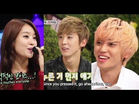 Hello Counselor - Niel & Chunji of Teen Top, Jieun & Sunhwa of Secret! (2013.10.21)