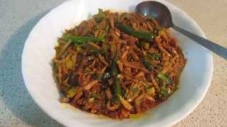 How to make keski macher torkari