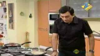 Khana Khazana Dec. 06 '09 - Onion Capsicum Uttapam