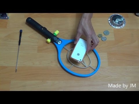 BFO metal detector from Electric Fly swatter