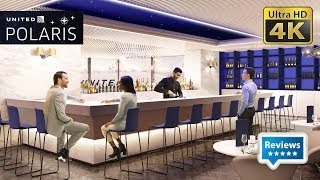 United Polaris Lounge at Chicago O'Hare International Airport ORD T1