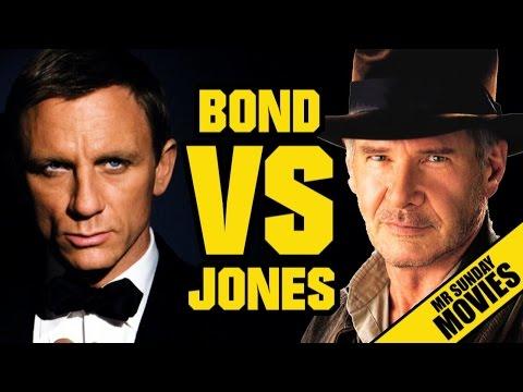 watch INDIANA JONES VS. JAMES BOND - Who Would Win?