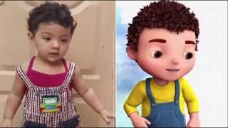 Jaan Cartoon Real Life Full Song New 2017 Urdu   Hindi