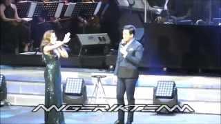KQ at the Araneta - Erik and Angeline