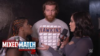 Curt Hawkins has a surprise gift for Ember Moon after WWE MMC