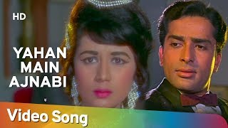 Yahan Main Ajnabee Hoon - Shashi Kapoor - Nanda - Jab Jab Phool Khile - Bollywood Classic Songs