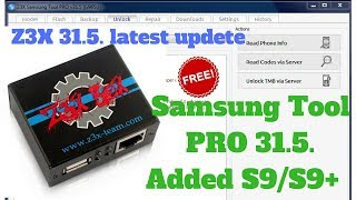 Samsung Tool PRO 31.5. Added S9/S9+...