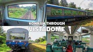 Delightful Konkan Railways Through The Vistadome Coach