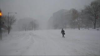 Blizzard in US | बर्फीले तूफान स्नोजिला के थमते ही अमेरिका में लौट आई बहार