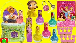 Beauty and the Beast Musical Snow Globe Belle and Surprises