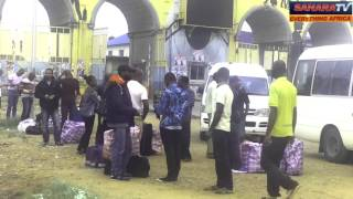 Nigerians Deported From The United Kingdom Arrive In Lagos With