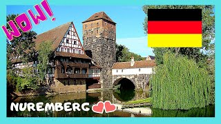 NUREMBERG, GERMANY'S most historic city, what to see in 3 hours or less