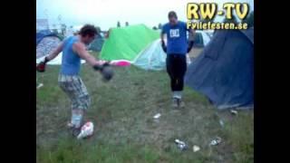 Rockweekend 2009 - Campingboxning | fyllefesten.wordpress.com TV