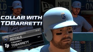 TDBarrett vs. Movie Gaming TV! MLB The Show 17 Diamond Dynasty Gameplay Collab