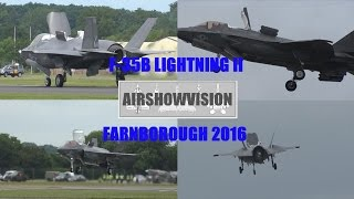 F35B DEBUTS AT FARNBOROUGH - THE HOVER IS BACK!!! (airshowvision)