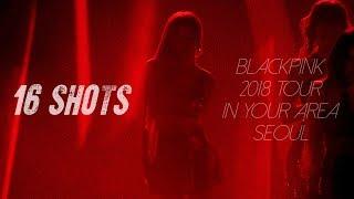 181110 - 11 블랙핑크 로제(BLACKPINK ROSÉ) IN YOUR AREA 콘서트 직캠 - 16 Shots
