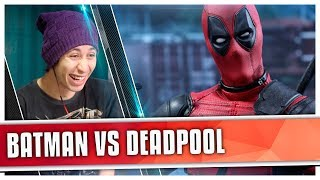 REACT Batman VS. Deadpool | Torneio de Titãs (7 Minutoz)