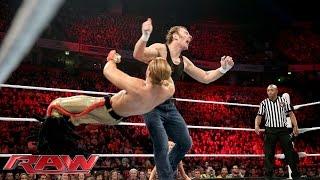 Dean Ambrose vs. Tyler Breeze - WWE World Heavyweight Championship Tournament: Raw, Nov. 9, 2015