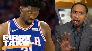 Stephen A. Smith slams the Philadelphia 76ers for its