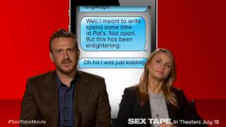 Sex Tape: Cameron Diaz & Jason Segel Read Top 5 Autocorrect Fails