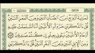 شرح + تفسير - لسورة الأنعام من آية ( 143 ) إلى آية ( 146 ) - للشيخ : فهد العمار .