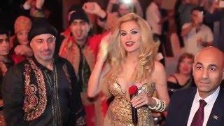 Dominique crazy and wild performance - El Khachouka / دومينيك حوراني - خاشوقة زفة حفلة ورقص نار