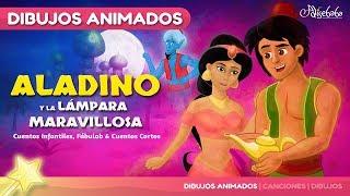 Aladino y la Lámpara Maravillosa cuento infantil | Cuentos infantiles en Español | dibujos animados