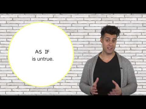 Everyday Grammar: As If, As Though