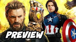 Avengers Infinity War Winter Soldier Preview Breakdown and Easter Eggs