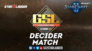 2018 GSL Season 2 Ro16 Group B Decider Match: Rogue (Z) vs INnoVation (T)