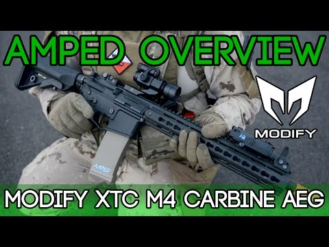 Amped Overview - Modify XTC M4 Carbine