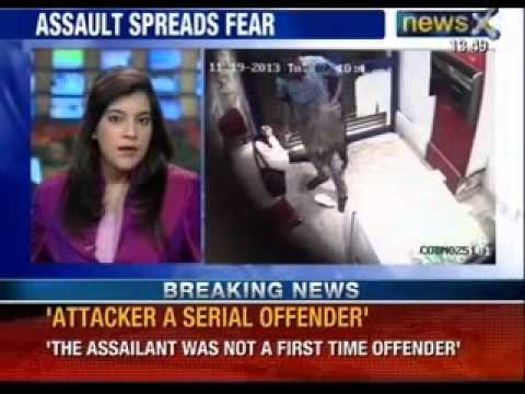 Woman attacked inside ATM in Bangalore, suffers severe injuries - News X