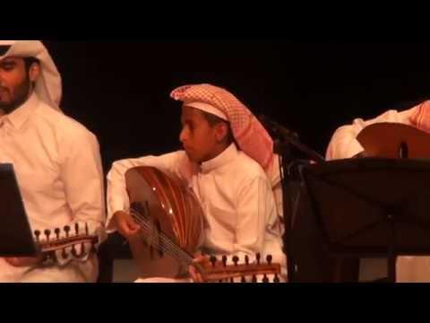 أجواد العويشق (12س) على العود، مقطوعة سماعي بيات، الدوحة، 20/5/2017