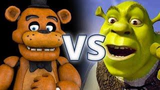 Five Nights at Freddy's Vs Shrek - Epic Battle - Left 4 dead 2 Gameplay (Left 4 dead 2 custom mods)